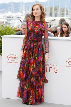 Cannes 2017 Style File: Isabelle Huppert Runs the Gamut in YSL, Gucci and Nina Ricci | Tom + Lorenzo