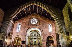 Interior de la Iglesia de Santiago (A Coruña - Spain)