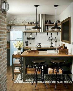Adorable 57 Luxury Black Kitchen Design and Decor Ideas https://homeylife.com/57-luxury-black-kitchen-design-decor-ideas/