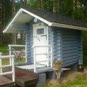 Beautiful outhouse.