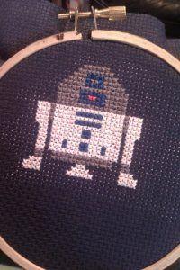 http://hanstitchedfirst.com/ A site dedicated to Star Wars stitchery. Love it.