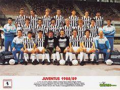 JUVENTUS DE TURIN 1988-89