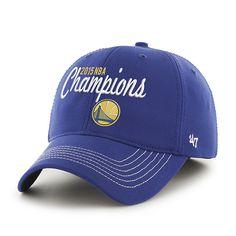 dc4b2b24c90 Golden State Warriors 2015 NBA Finals Champs 47 Brand Blue Closer Hat Cap