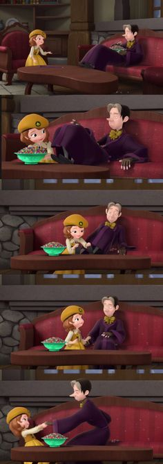 Sofia The First, Sofia not giving up on Cedric