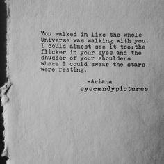 Poetry original poem love letter typewritten poem typography   Etsy