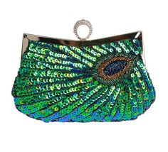 Evening Wedding Party Proms Sequined Ring Clutch Purse Wallet for Women, Gift Idea Dealkiller to enter online shopping or purchase click on Amazon right here http://www.amazon.com/dp/B00FOFFP7O/ref=cm_sw_r_pi_dp_2jFVtb17TGT02QCR