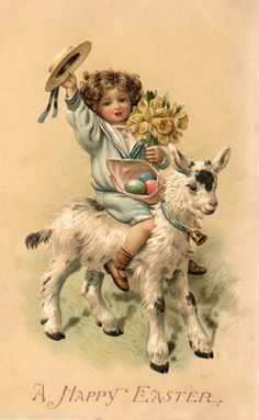 I just luv this!  I could do a shabby chic easter card using this sweet image.