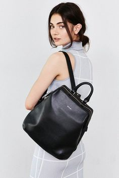 Shop Matt & Nat Vignelli Backpack at Urban Outfitters today. We carry all the latest styles, colors and brands for you to choose from right here. Fashion Bags, Fashion Backpack, Fashion Handbags, Fashion Accessories, Style Hippie Chic, Urban Outfitters, Minimalist Bag, Minimalist Fashion, Black Leather Backpack