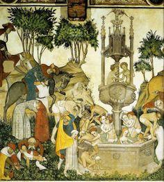 Fountain of Youth (detail), La Manta Castle, 1411-1416