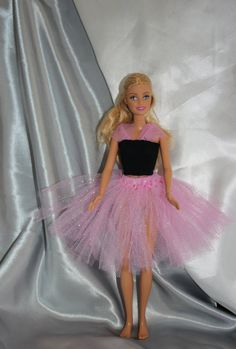 BARBIE DOLL pink tutu SKIRT