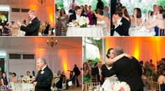 Father's Toast | Photography by Berit Bizjak for Images by Berit | Hamilton Farm Golf Club Photographer | New Jersey Wedding Photography