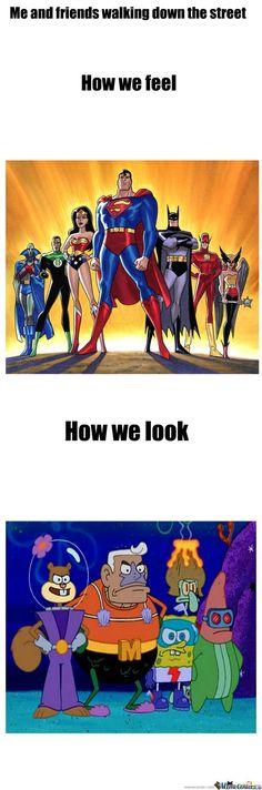 justice league memes | The International Justice League Of Super Acquaintances - Meme Center