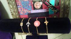 Dainty bracelets by AdoraBeadz