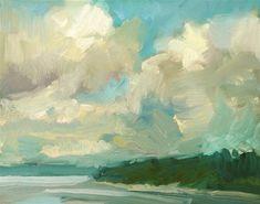 """Zangle Clouds"" - Original Fine Art for Sale - © Kathryn Townsend"