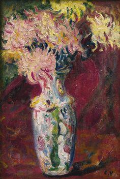Bouquet of Dahlias 1910 Louis Valtat (Fr 1869–1952)