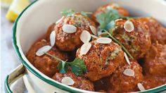 Pork Meatballs - RTE Food Quick Family Dinners, Family Meals, Family Recipes, Pork Meatballs, Roasting Tins, Irish Recipes, Meat Lovers, Meatball Recipes, Garam Masala