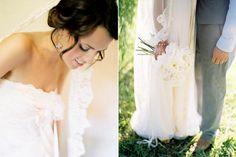 dress, hair, veil