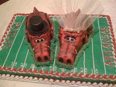 Cute Groom's cake # Lindsey Blanchard @Lindsey Blanchard