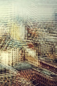 """""""View Berlin by Stephanie Jung. multiple perspective photography, creating a blurred effect but still has familiar structures"""" Multiple Exposure Photography, A Level Photography, Perspective Photography, Experimental Photography, City Photography, Abstract Photography, Nature Photography, Levitation Photography, Photography Portraits"""
