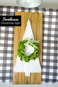 A tree of an idea for your home! This simple project is fun to make and is fabulous decor to put any where.