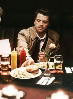 Misha Collins as Castiel - Supernatural