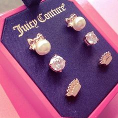 Juicy Couture Earrings.