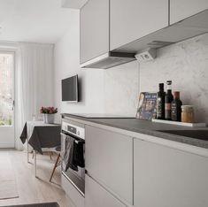 deco gris rose visite d un appart douillet deco gris rose cuisine ouverte scandinave style