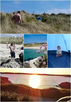 Camping in Clifden,