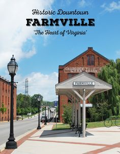 Historic Downtown Farmville, Virginia | Em Busy Living
