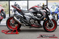 Z800 Grey/Red Color Project BY. X-SPEED