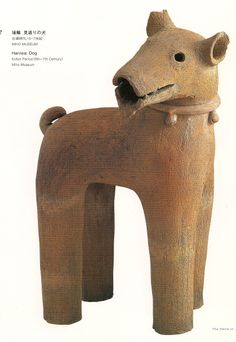 Haniwa - dog.  The smile in japanese Art - from the Jomon Period to the Early Twentieth Century