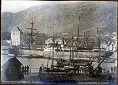 Emigrantskip 1870 - 1879 Fotograf: Knudsen, Knud  Samling: Gamle Bergen Museum EIER AV SAMLING Hordaland