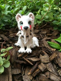 Princess Mononoke Wolf by AleciaEdwards on DeviantArt