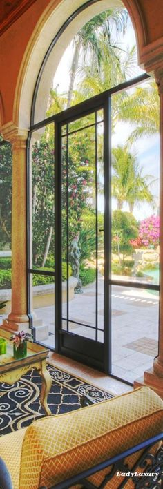 Screened in luxury patio found in a gorgeous Admirals Cove estate-home in Jupiter Florida. Luxury Living, Coastal Living, Jupiter Florida, Interior Exterior, Luxury Interior, Interior Design, Waterfront Property, Large Windows, Estate Homes