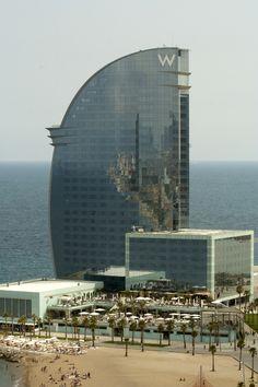 W hotel Barcelona architect Ricardo Bofill