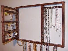 BEST Seller  Jewelry Organizer  Earring by edgewaterscreations, $36.95