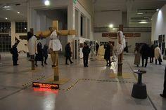 ''Gologota al femminile''  denuncia la condizione della donna nel mondo alla Biennale di Torino  17 dicembre 2011 Torino, Basketball Court, Sports, Hs Sports, Sport