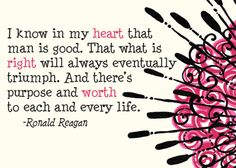 Ronald Regan, one of the greatest American Presidents to ever live.