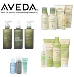 Aveda Products, 1. Their products are all pure flower and plant based. 2. All of their products are formulated without parabens, phthalates, and sodium lauryl sulfate. 3. Products are produced in the United States and Canada so not a lot of fuel for shipping is being wasted.