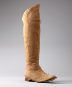 Take a look at this Tan Halie Boot by Michael Antonio on #zulily today!