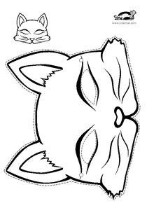 KROKOTAK PRINT! | printables for kids Animal Masks For Kids, Animal Crafts For Kids, Animals For Kids, Mask For Kids, Paper Mache Animals, Printable Masks, Ramadan Crafts, Creation Crafts, Preschool Art