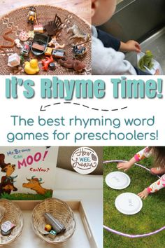 The BEST Rhyming Activities for Kids - How Wee Learn