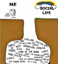 My life in a nutshell… - Geek Stuff Nerd Memes, Book Memes, Book Quotes, Life Quotes, Nerd Problems, Fangirl Problems, Funny Relatable Memes, Funny Jokes, True Memes