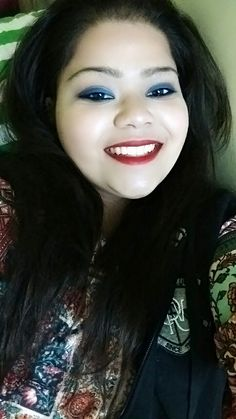 Smiles completes me but so does the makeup... #hercreativepalace #kanikasharnma #delhi #india #blogger #bblogger #youtuber #smile #makeup #selfie #partymodeon #obsessed #lifestyle #beauty #loveyourself #ilovemyself #selflesslyselfish
