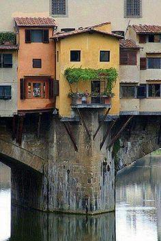Ponte Vecchio, Florence, Italy !