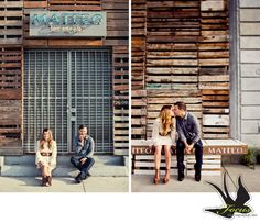 Downtown Los Angeles - Art District Engagement Session