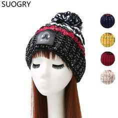 7973490a421 Good price Womens Winter Hats with Ear Warm 2017 Top Fashion Designer  Beanies knitted Hat lady