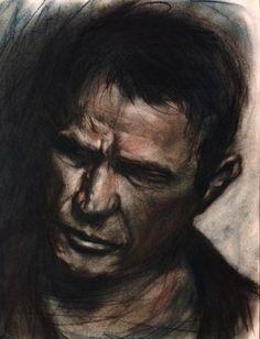 dusk #portrait #study #graphite #charcoal #pastel on paper #art #followart pic.twitter.com/TGqVfO9j5e