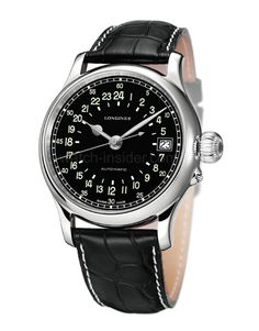 Longines Twenty-Four Hours: A new version of the brand's historical pilots' watch, with a 24-hour-dial produced for SwissAir pilots during the years 1953-1956.