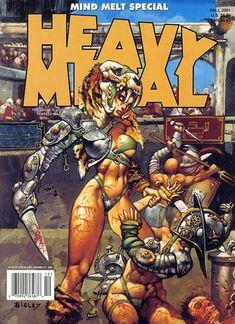 Heavy Metal Magazine Sexy Cybercop 1/4 Scale Statue Heavy Metal ...